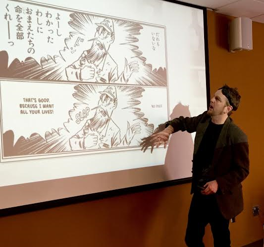Zack Davisson Duke University Manga Translator