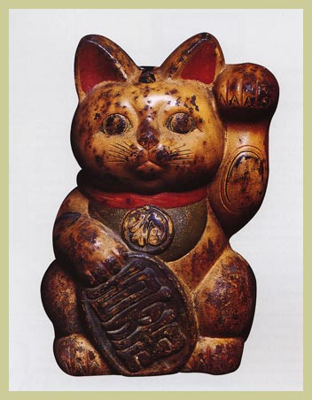 maneki-neko-taisho-period-iron-1912-1926